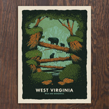 Load image into Gallery viewer, WV Bears Screenprint