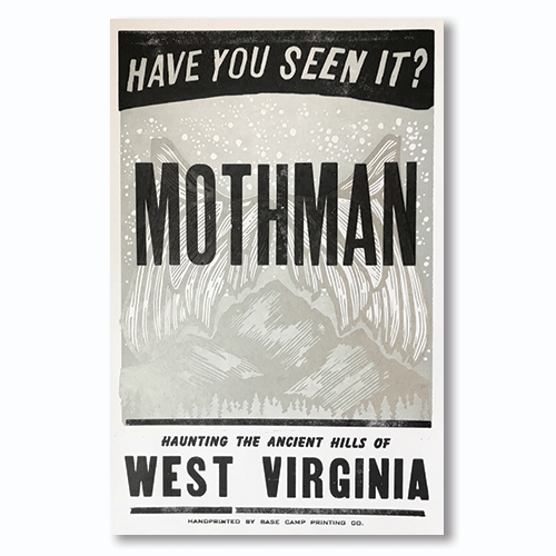 Base Camp Mothman Print - 11x17