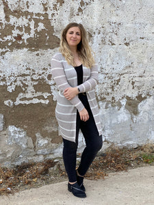 The Soft Grey Cardi
