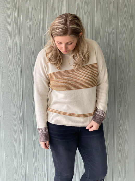 The Golden Stripe Sweater