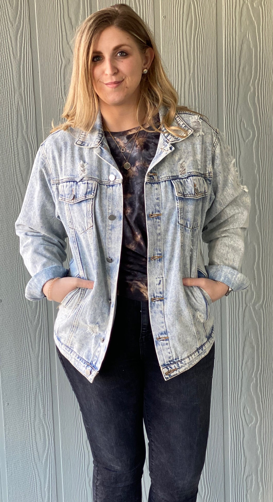 The Acid Wash Denim Jacket