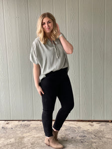 The Light Sage Blouse