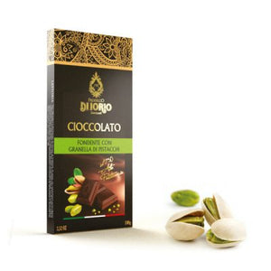 Dark chocolate with pistachio - Di Iorio 100 gr