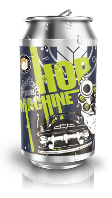 DDH HOP MACHINE - Double Dry Hopped IPA 33 cl.