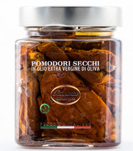Load image into Gallery viewer, Dried tomatoes in extra virgin  olive oil - Lucia Iannotta 320 gr
