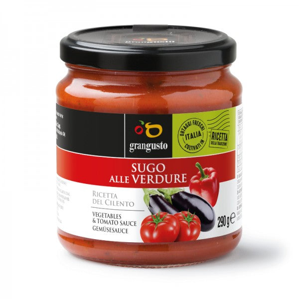 TOMATO PASTA SAUCE WITH VEGETABLES - 290Gr