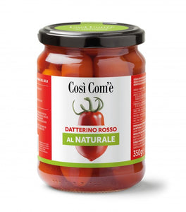 "RED NATURAL ""DATTERINO"" TOMATO  - 350Gr"