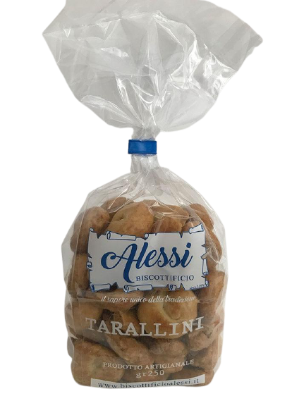 Tarallini with rosemary - Alessi 250 gr