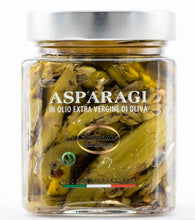Load image into Gallery viewer, Asparagus in extra virgin  olive oil - Lucia Iannotta 320 gr