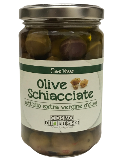 WHITE OLIVES PRESERVED IN OIL 290Gr