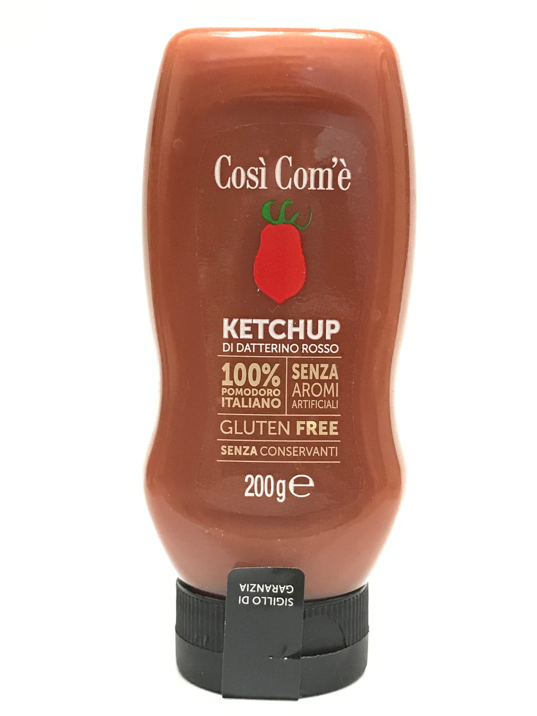 KETCHUP ROSSO SQUEEZE 200GR - FINAGRICOLA