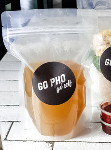 Pho & BBH Broth Pouches 1L