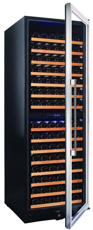 Smith & Hanks 166 Bottle Dual Zone Wine Cooler - Accessories Essentials