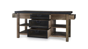 Bramble Co. Harrington Kitchen Island - Accessories Essentials