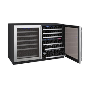 Allavino 112 Bottle Three-Zone Side by Side Wine Refrigerator - Accessories Essentials