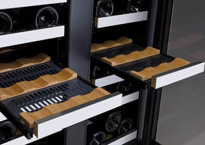 Allavino Flex-count Two-Zone 36 Bottle Wine Refrigerator - Accessories Essentials