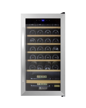 Allavino Cascina Series 28 Bottle Single Zone Wine Refrigerator - Accessories Essentials