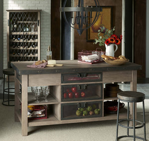 Bramble Co. Sonoma Wine Cabinet - Accessories Essentials