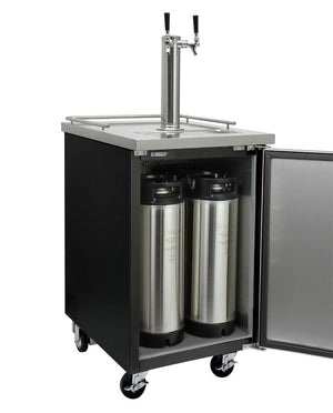 Kegco Dual-Tap Commercial Javarator Cold-Brew Coffee Dispenser - Accessories Essentials