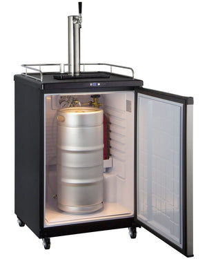 Kegco Full Size Digital Kegerator - Black Cabinet w/ Stainless Steel Door - Accessories Essentials
