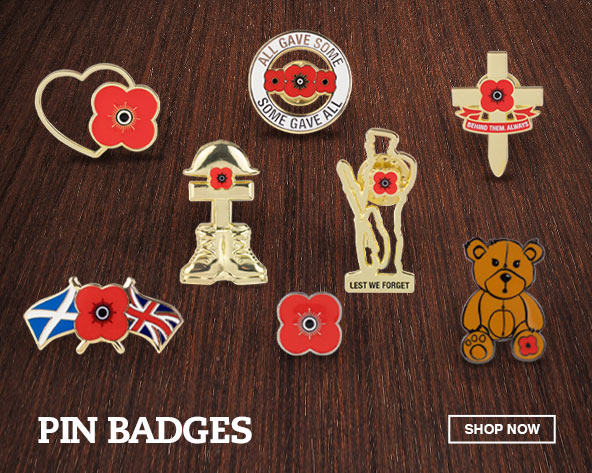 The Poppyscotland Pin Badge Collection