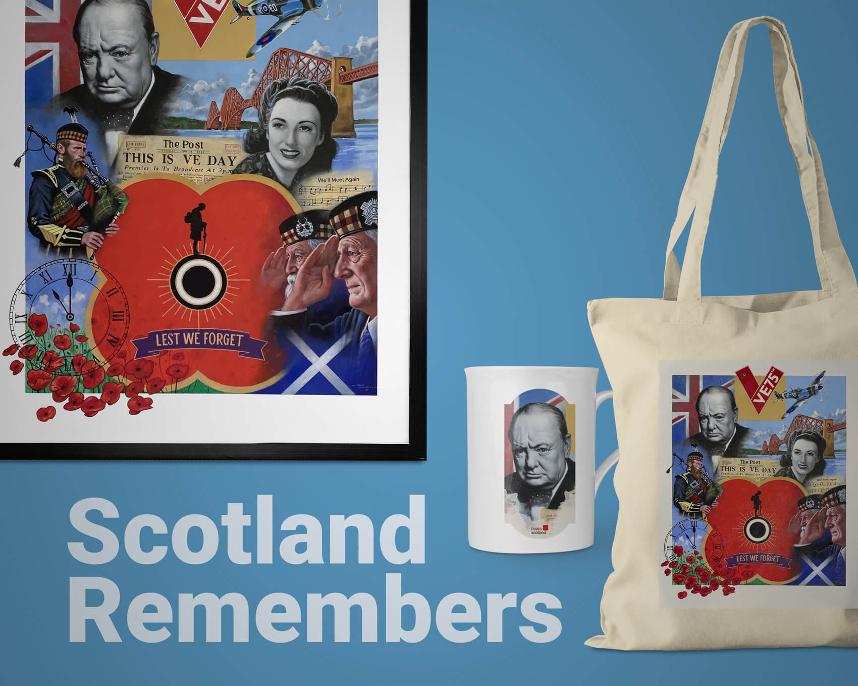 The Poppyscotland Scotland Remembers Collection