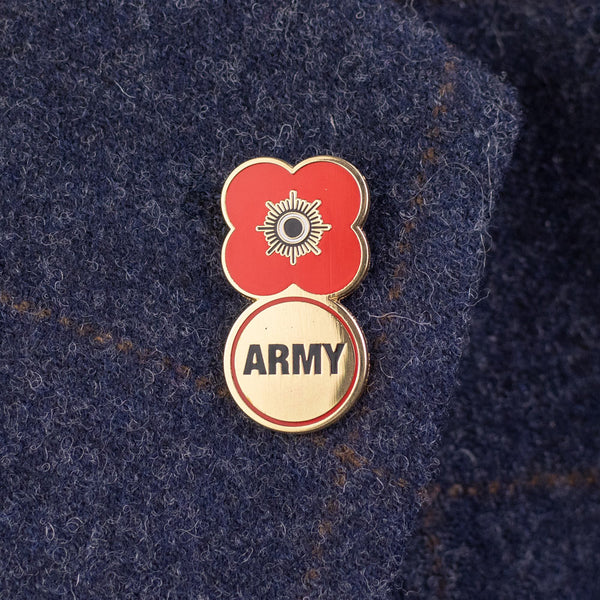 Poppyscotland Army 2019 Badge