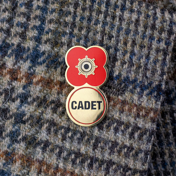 Poppyscotland Cadet 2019 Badge