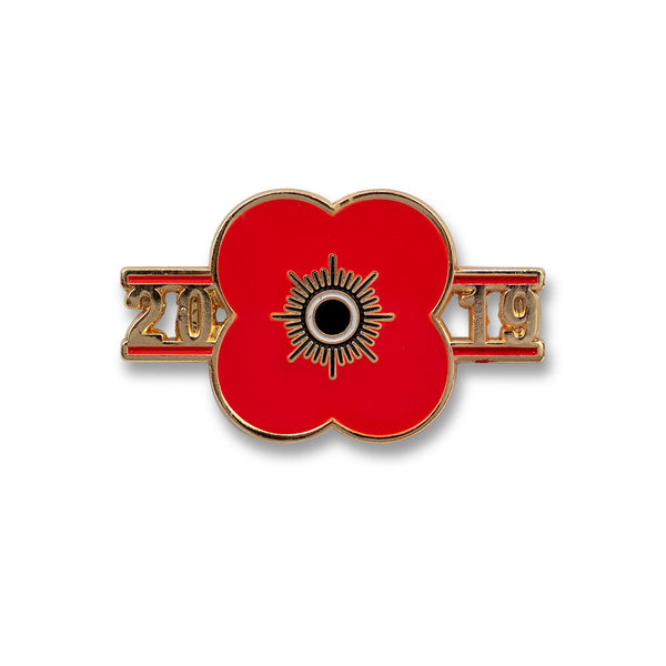 Poppyscotland Poppy 2019 Pin Badge A