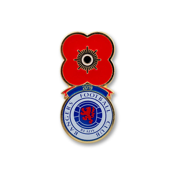 Poppyscotland Rangers Football Badge 2019