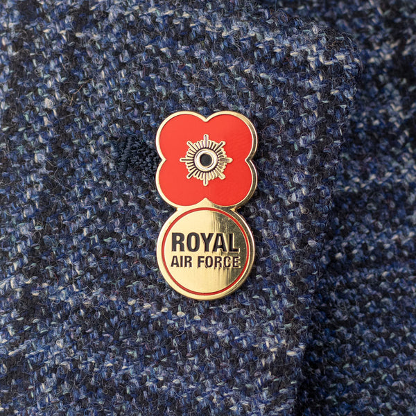 Poppyscotland Royal Air Force 2019 Badge