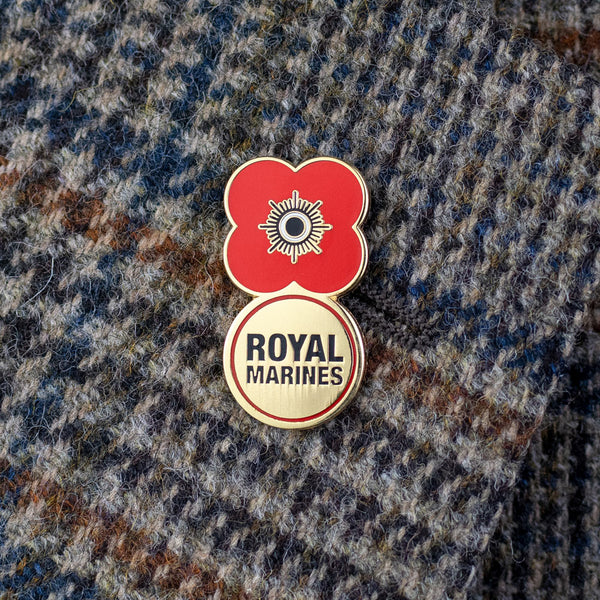 Poppyscotland Royal Marines 2019 Badge