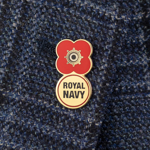 Poppyscotland Royal Navy 2019 Badge