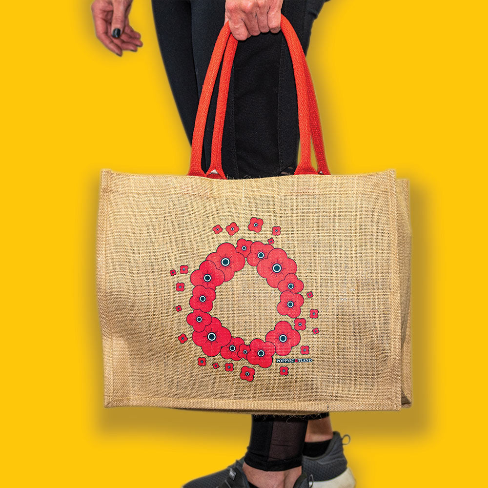Poppyscotland Canvas Bag
