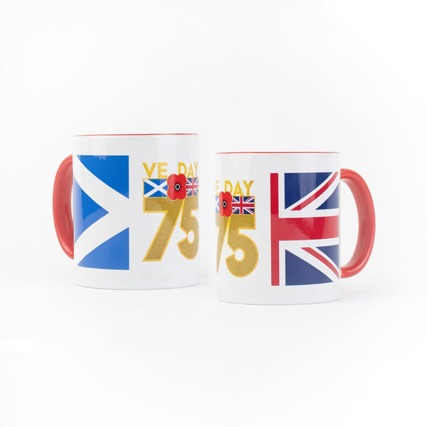 Poppyscotland Contrast VE Day Ceramic Mug