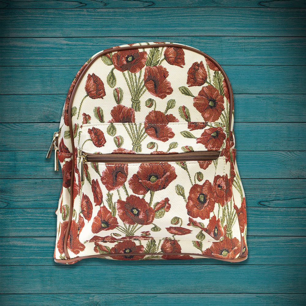 Field Poppy Ladies Rucksack