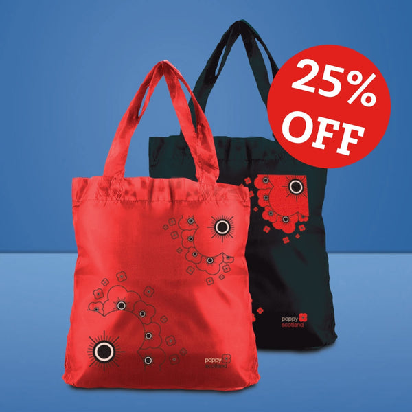 Poppyscotland Foldable Bag