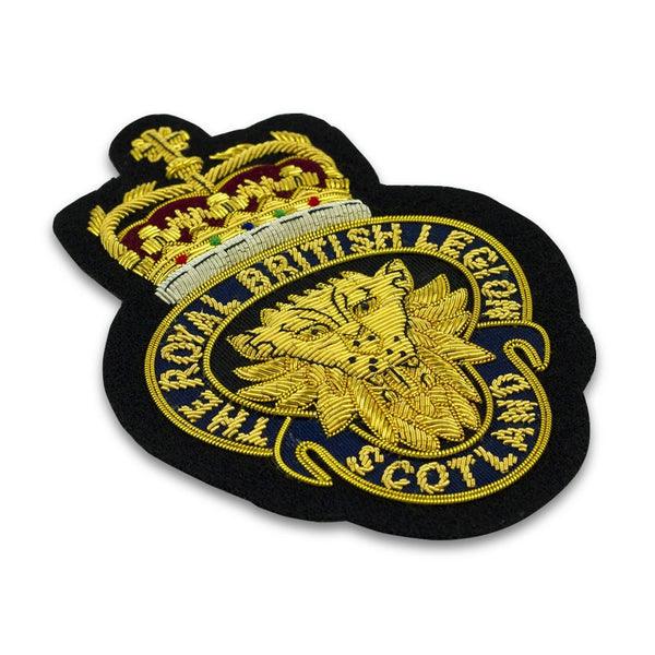 RBLS Gold Blazer Badge