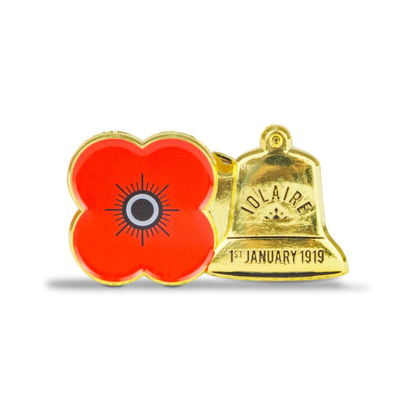 Iolaire Poppy Pin Badge