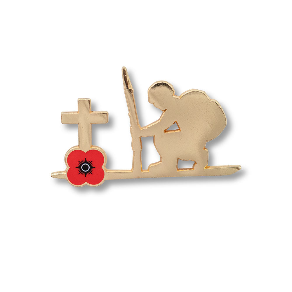Poppyscotland Kneeling Soldier Badge M