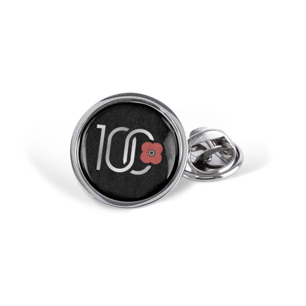 poppyscotland 100 years of poppy dome lapel pin