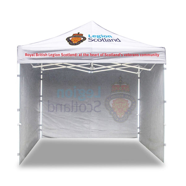 Legion Scotland Pop Up Gazebo