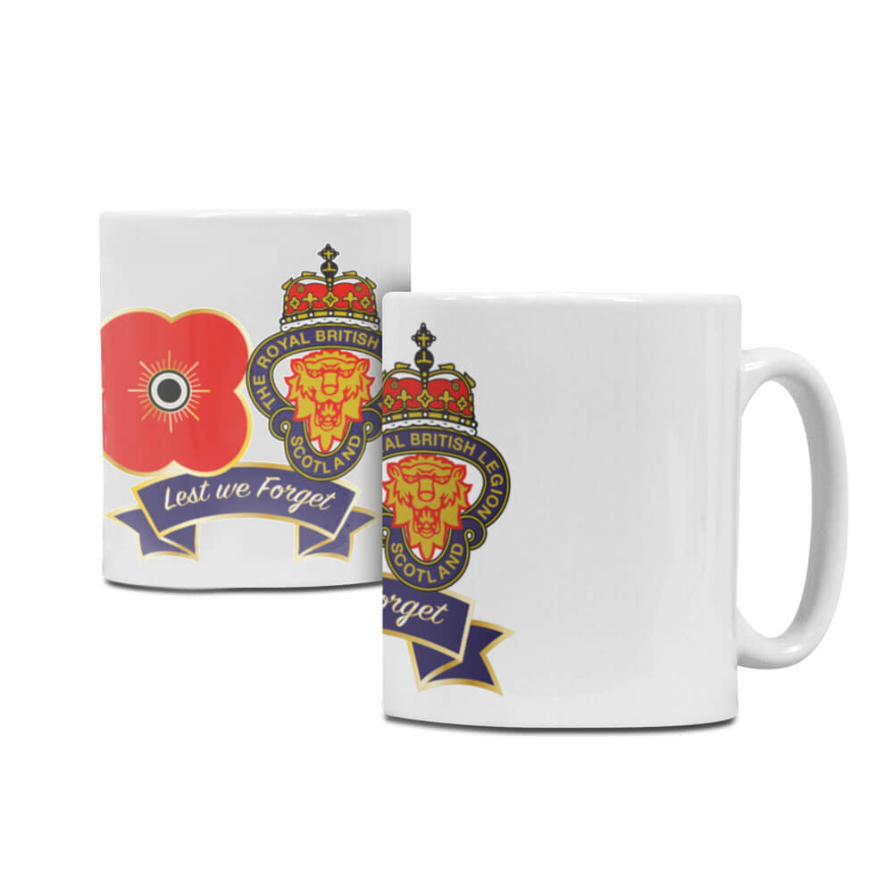 Legion Scotland China Mug