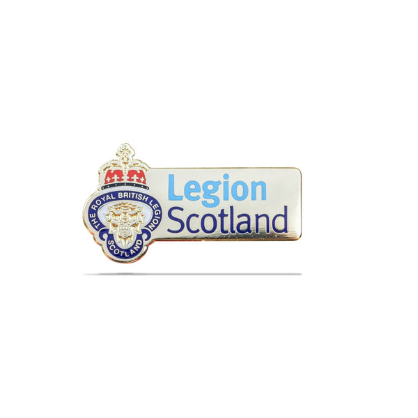 Legion Scotland Lion's Head Logo Pin Badge