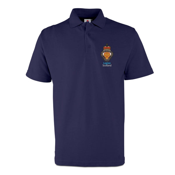 Legion Scotland Classic Polo - Navy