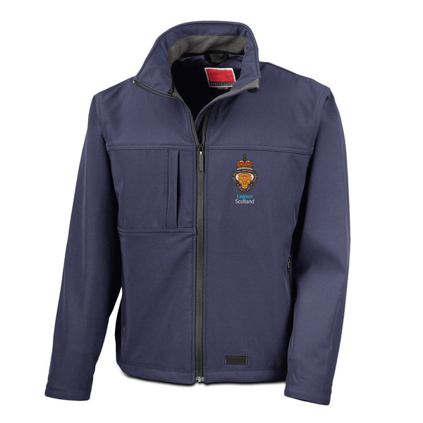 Legion Scotland Softshell Jacket - Navy