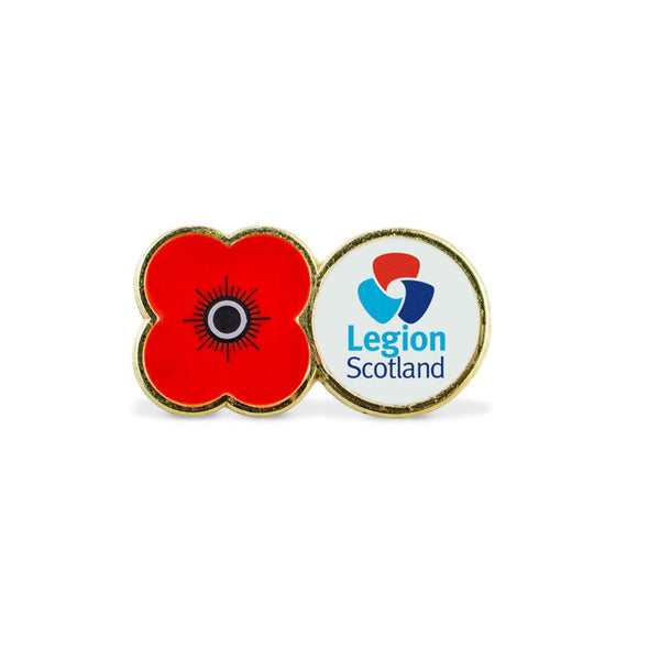 Legion Scotland Poppy Pin Badge