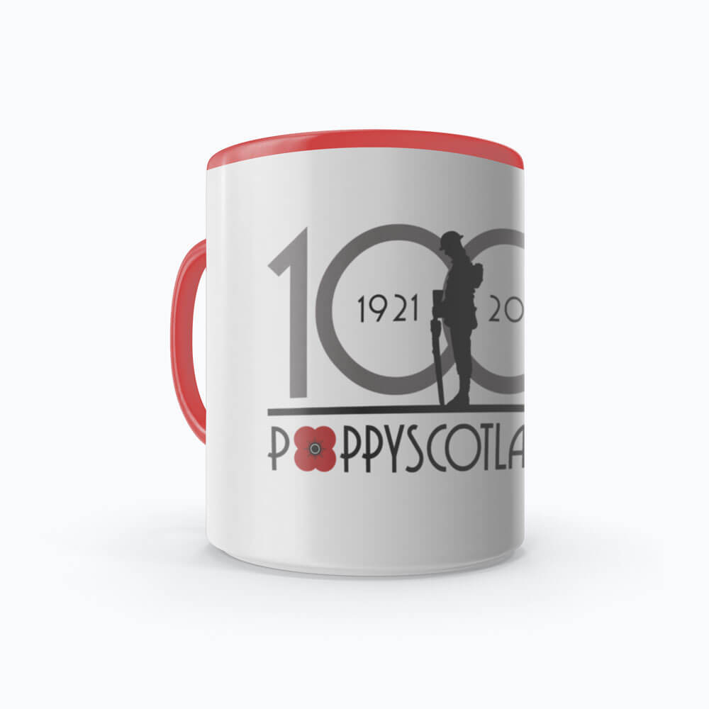 poppyscotland 100 years of poppy ceramic mug