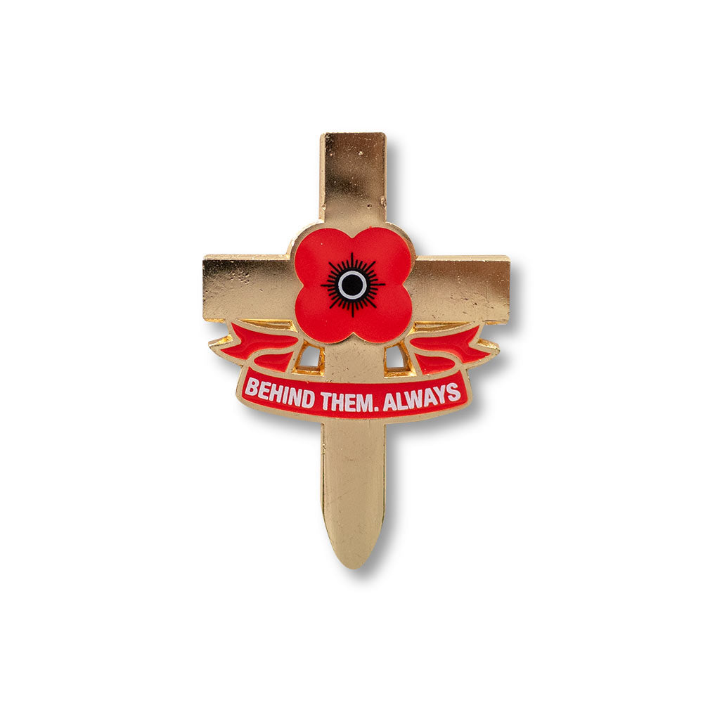 Poppyscotland Poppy Cross Badge K