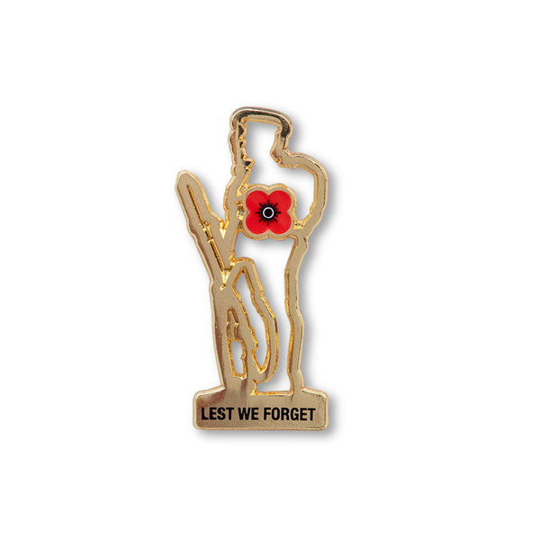 poppyscotland Poppy Soldier Badge L